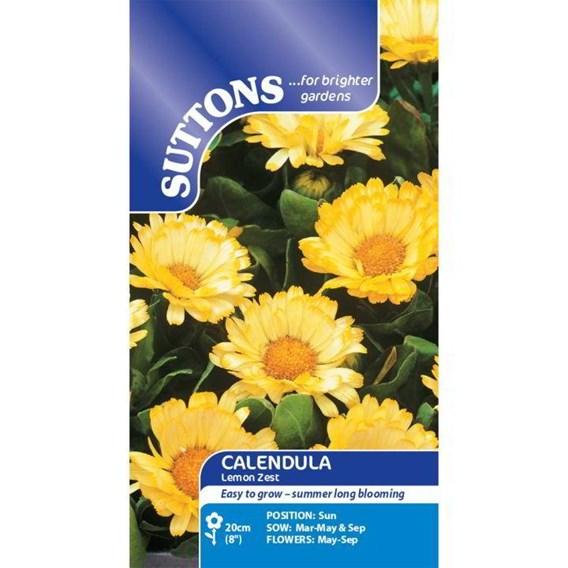 Calendula Seeds - Lemon Zest