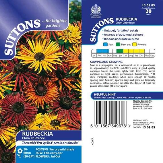 Rudbeckia Seeds - Chim Chiminee