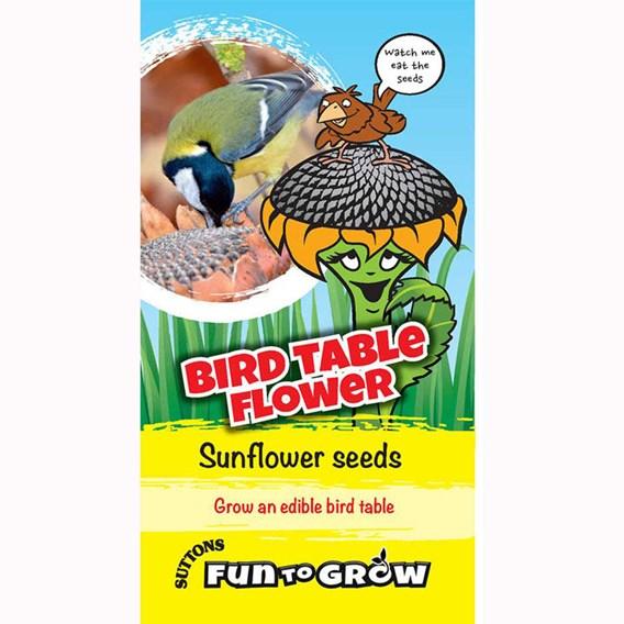 Sunflower - Bird table flower