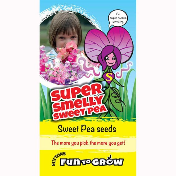 Sweet Pea- Super smelly sweet pea