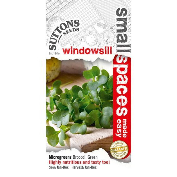 Sprouting Seeds - Broccoli Green-Sprouting