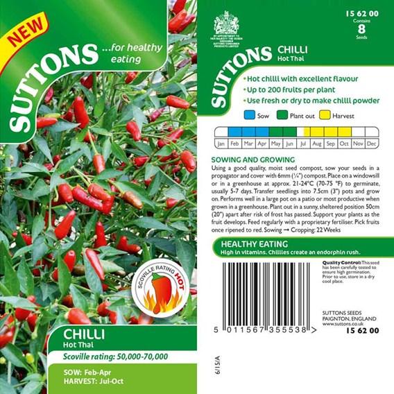 Pepper Chilli Seeds - Hot Thai