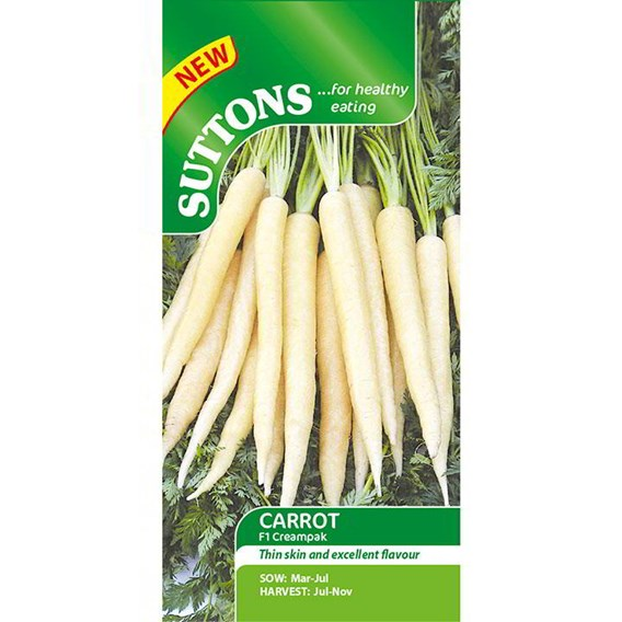 Carrot Seeds - F1 Creampak