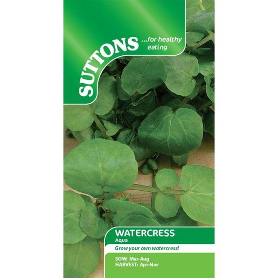 Cress Seeds - Watercress Aqua