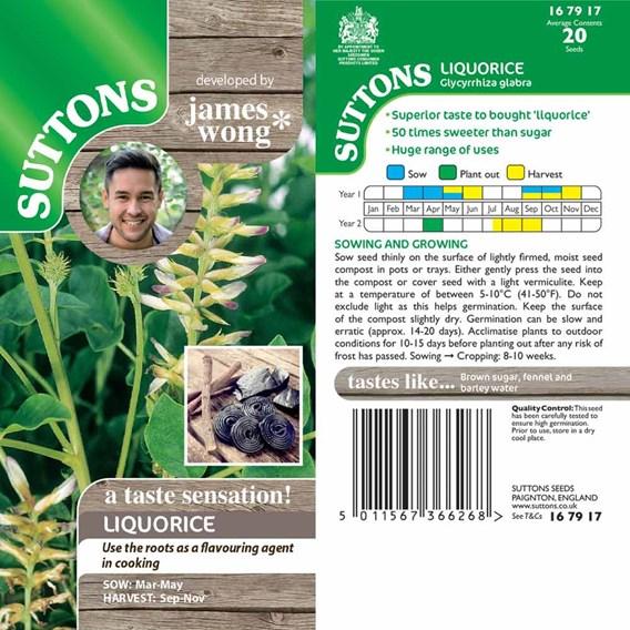 Liquorice Seeds