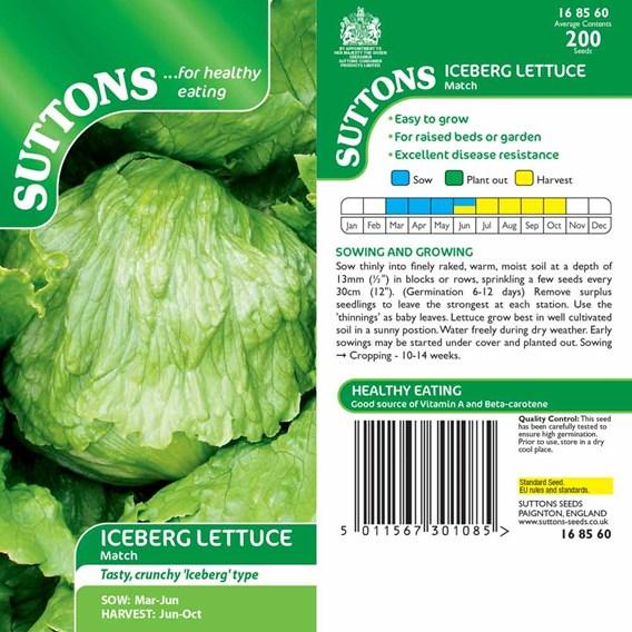 Lettuce Seeds - Match