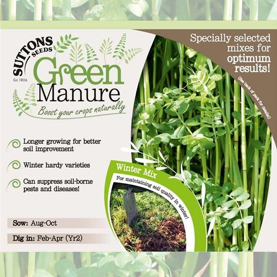 Green Manure Seeds - Winter Mix