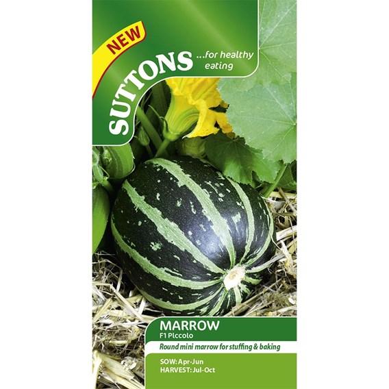 Marrow Seeds - F1 Piccolo
