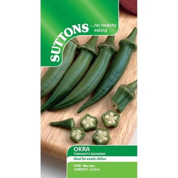 Okra Seeds - Clemsons Spineless