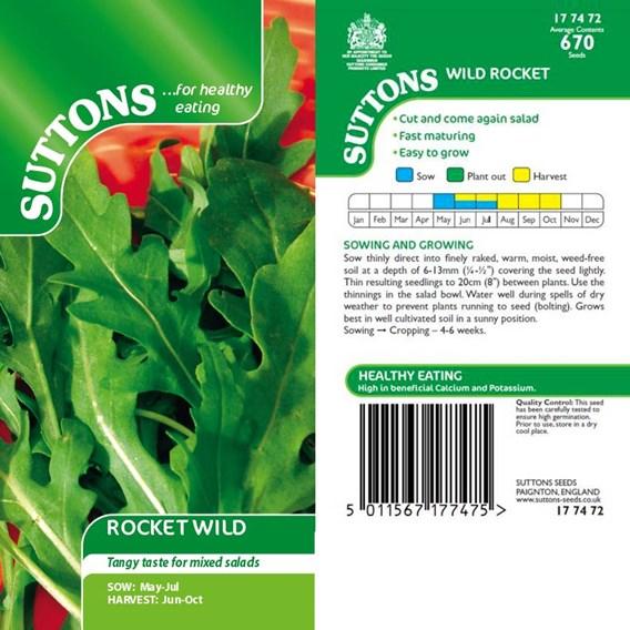 Rocket Seeds - Wild
