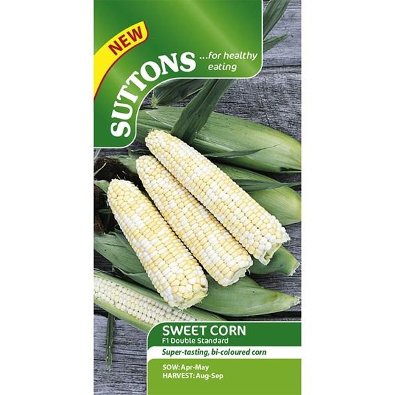 Sweet Corn Seeds - Double Standard