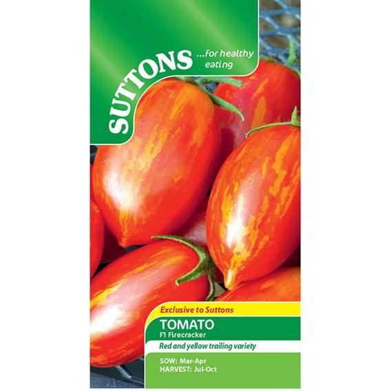 Tomato Seeds - F1 Firecracker
