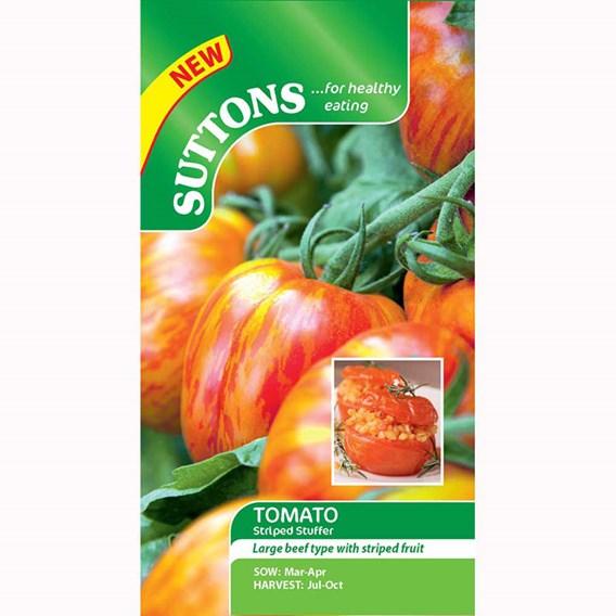 Tomato Seeds - Striped Stuffer