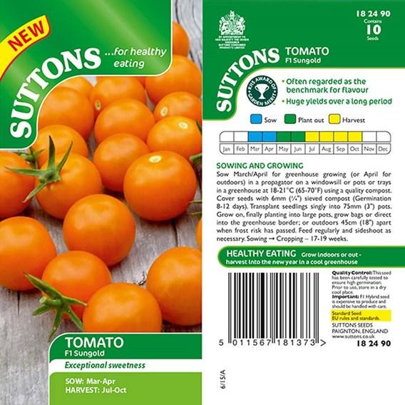 Tomato Seeds - F1 Sungold