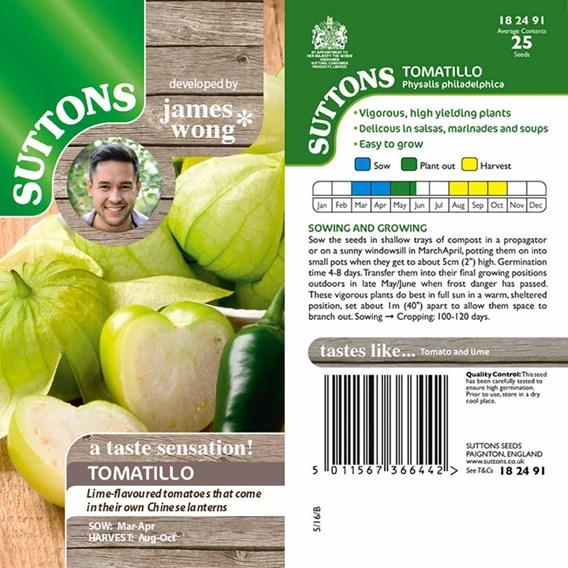 Tomatillo Seeds - Tomatillos