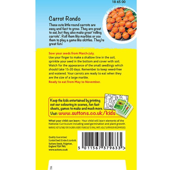 Carrot Seeds - Bowling carrots