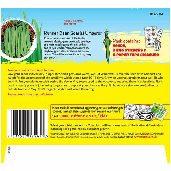 Bean Seeds - Grow a Whopper