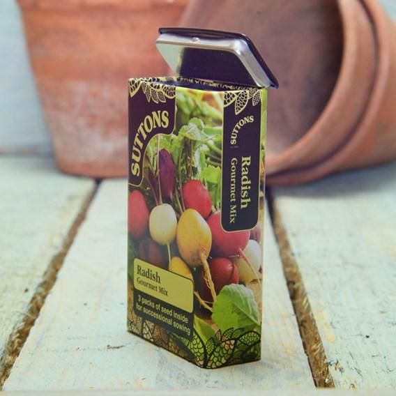 Seed Tin Radish Gourmet Mix