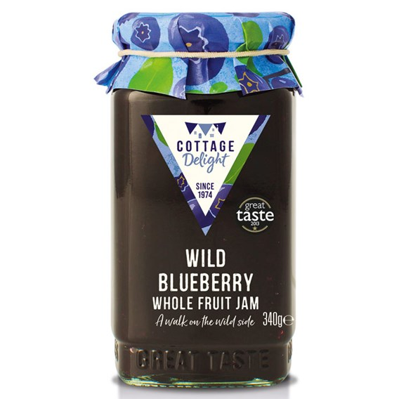 Blueberry Collection 3 With  Wild Blueberry Jam