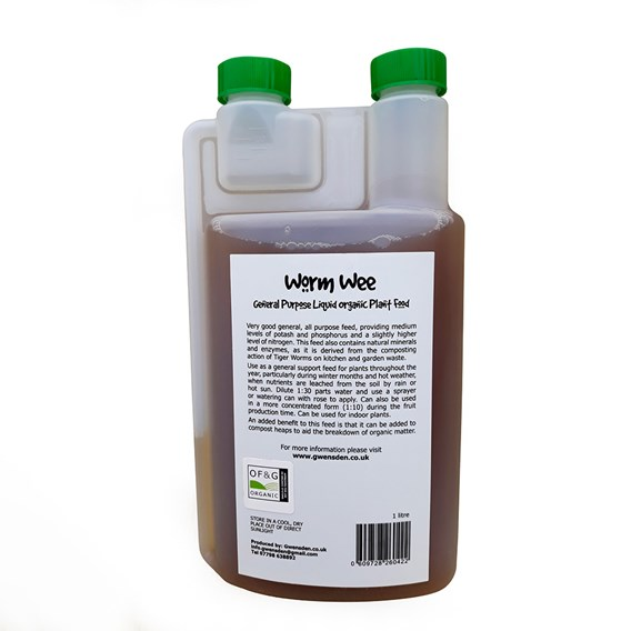 Organic Worm Wee 1 Litre