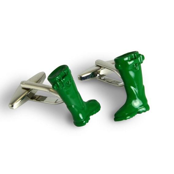 Gardening Cufflinks - Welly Boots