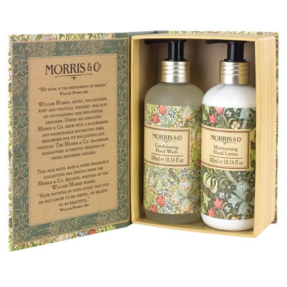Morris & Co. Golden Lily Hand Wash & Lotion Gift Box