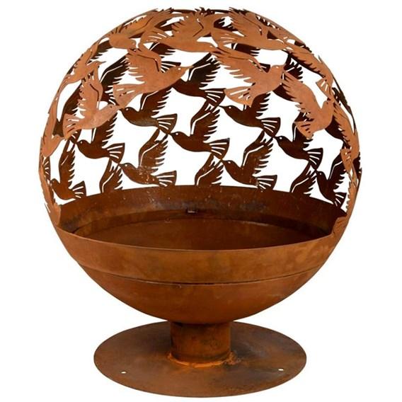 'Birds' Fire Globe