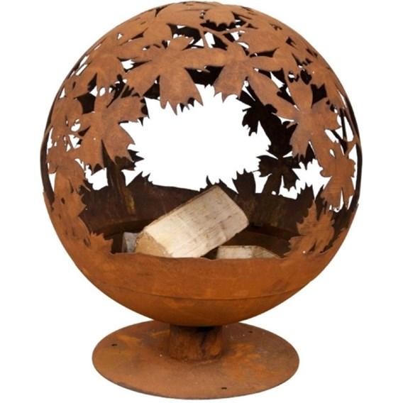 'Leaves' Fire Globe