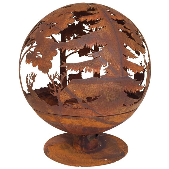 'Woodland' Fire Globe