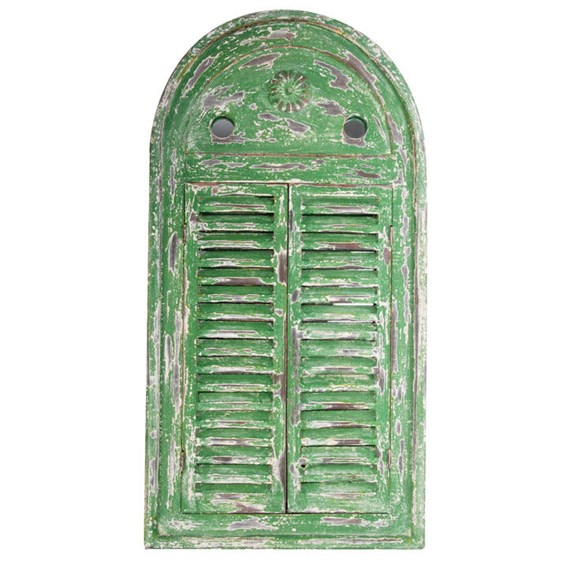 Louvre Mirror Green