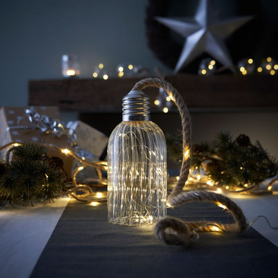Glass Lamp LED Decoration