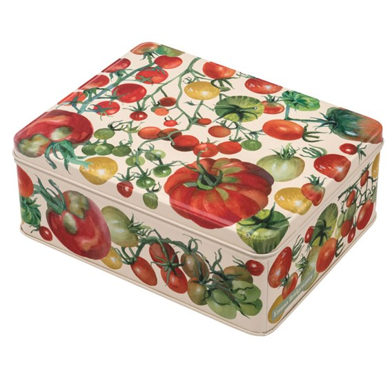 Tomato Tin - Biscuits / Tea Caddy