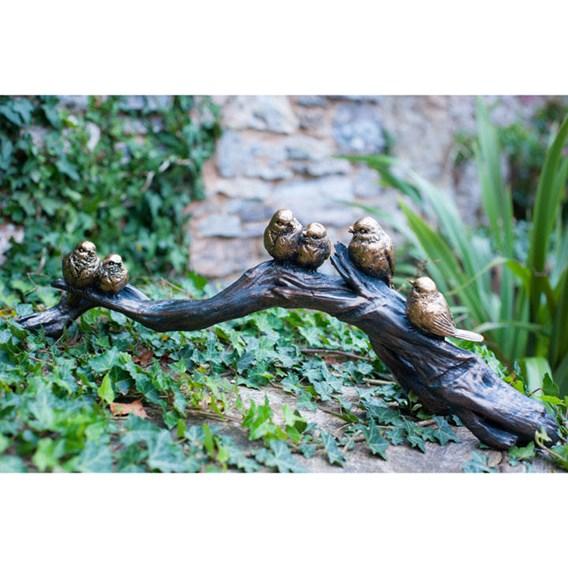 Six Birds On A Branch