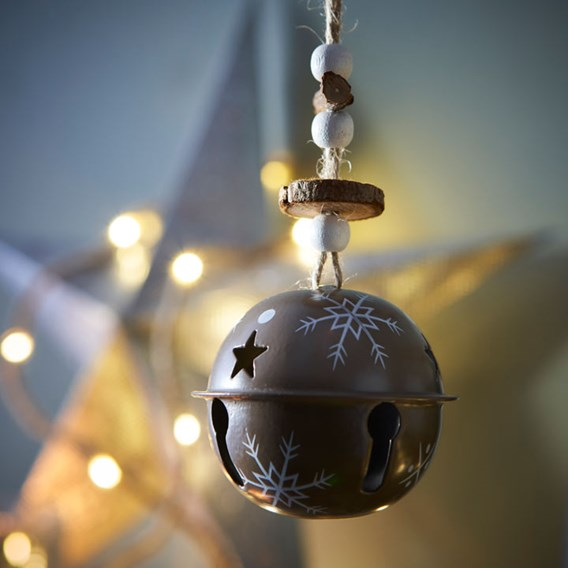Metal Bell Decorations (3)