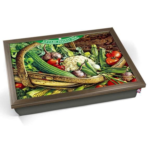 Vintage Vegetables Laptray