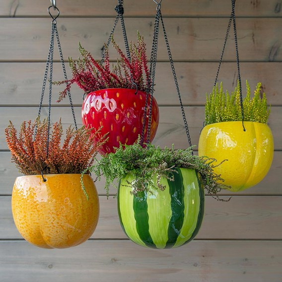 Large Fruit Flower Pot