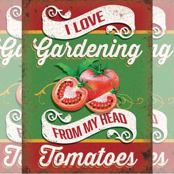 I Love Gardening Sign