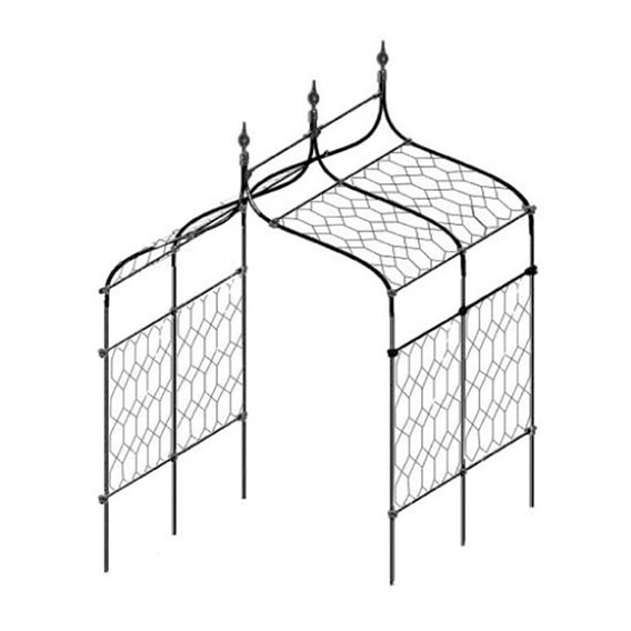 Lattice Infill For Gothic Pergola Base 12/1.5M (W)