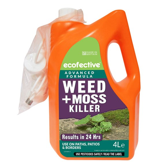 Weed & Moss Killer for Paths & Patios Ecofective® - Ready to Use