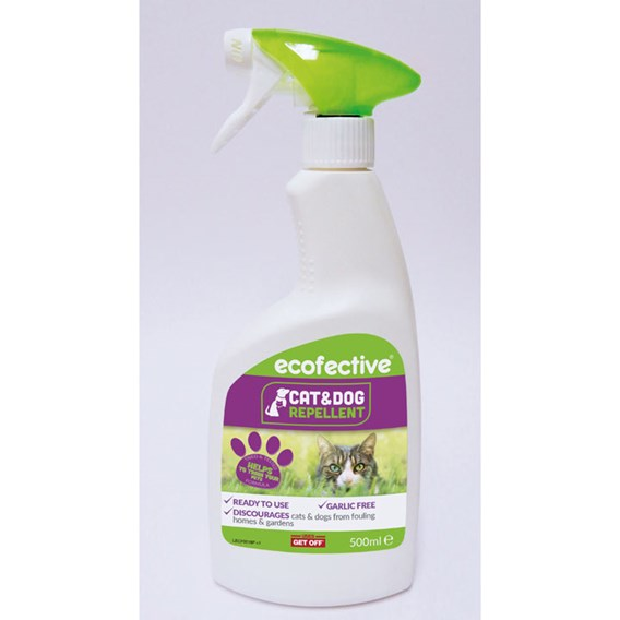 Ecofective Cat & Dog Repellent - Spray