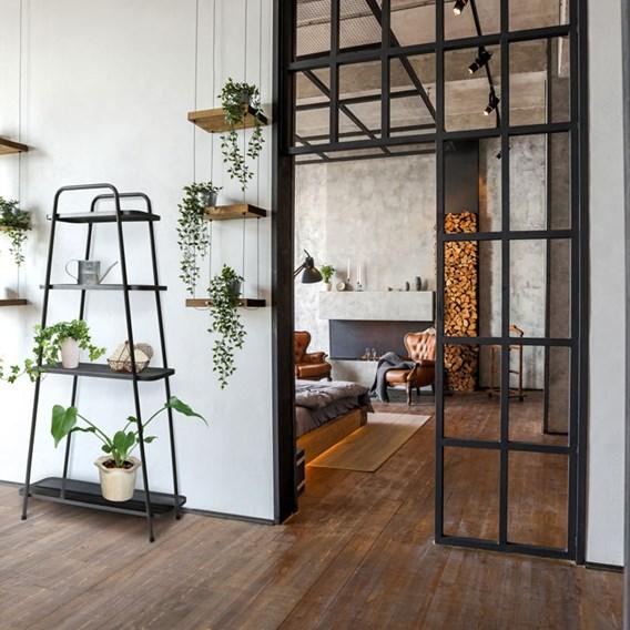 Modern Plant Stand 4 Shelf