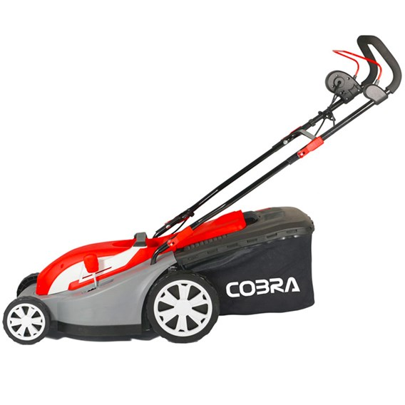 Cobra Electric 34cm Mower With Roller