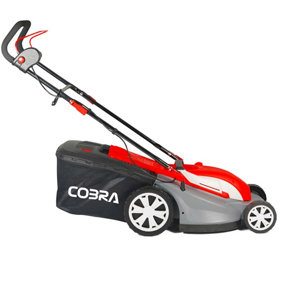 Cobra Electric 40cm Mulching Mower With Rear Roller
