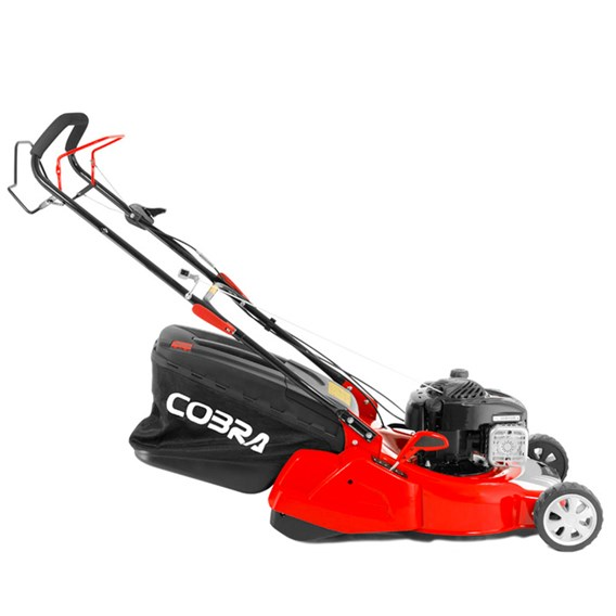 Cobra Self Propelled Briggs & Stratton 500E Series 46cm Mower With Rear Roller