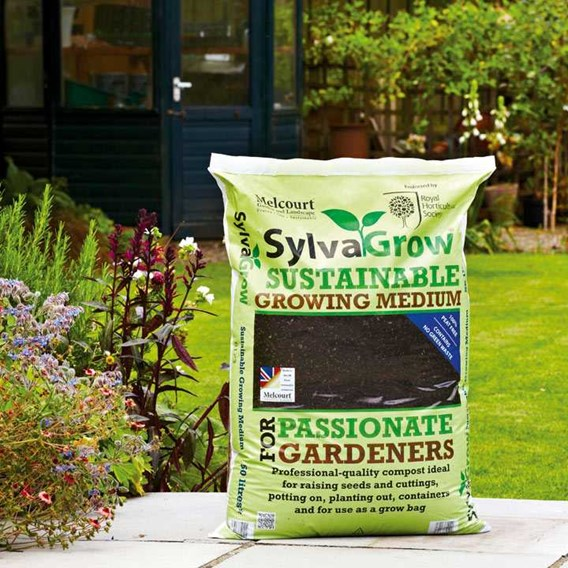 RHS SylvaGrow Multipurpose Compost 50 Litres (Peat Free)
