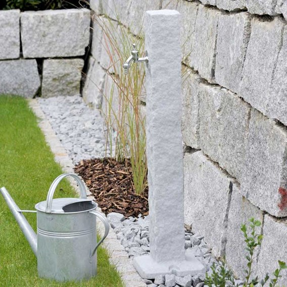 Watering Post Natural Stone