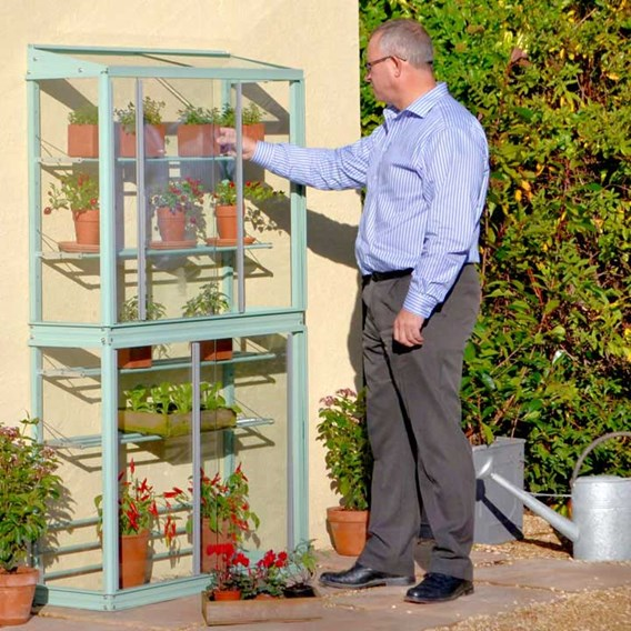 Classic Small Westminster Tall Growhouse