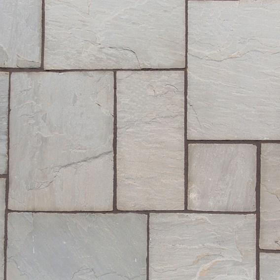 Natural Sandstone Patio Kit 15.3M2 Lakefell