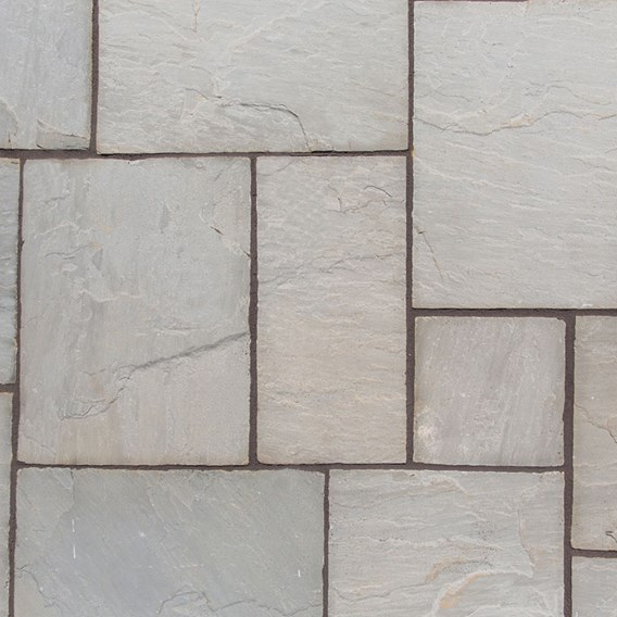 Natural Sandstone Patio Kit 15.3M2 Lakefell