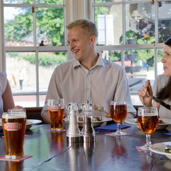 Shepherd Neame Evening Brewery Tour and Ale Sampler's Supper for Two